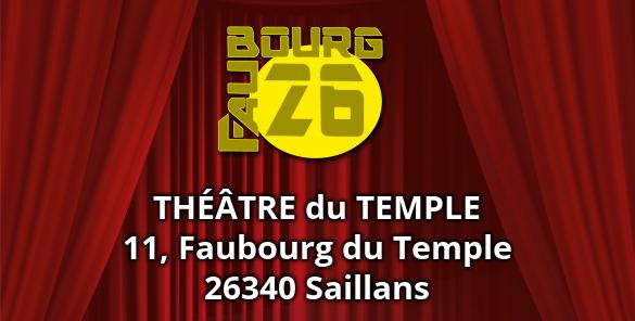 Faubourg 26 - théatre et spectacles